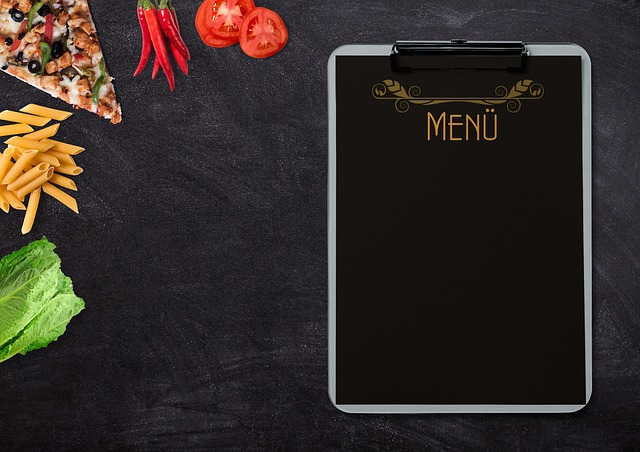 menu ristorante pinocchio